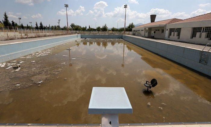 Олимпийская деревня в Афинах. Летние Олимпийские игры 2004 года.