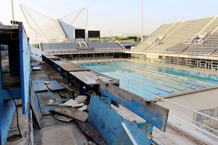 Главный бассейн в Афинах, Летние Олимпийские игры 2004 года.