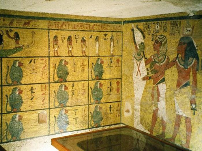Рисунки гробницы Тутанхамона