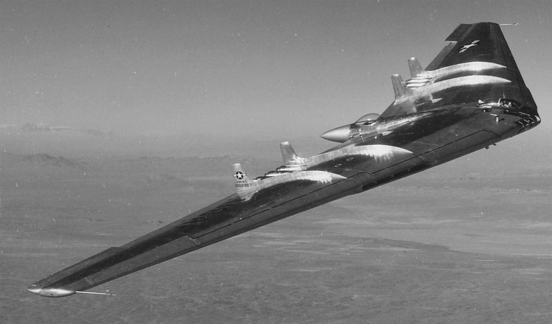 Технические характеристики YB-49