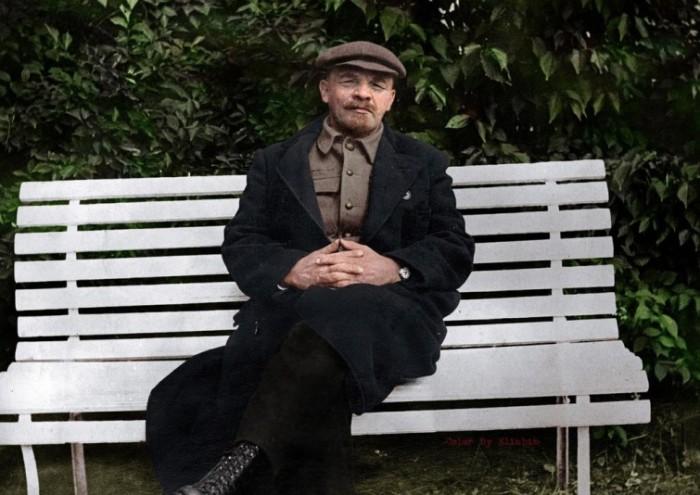 Фотография Владимира Ильича Ленина