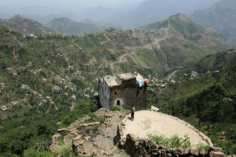 Вид сверху, Райма, Йемен, 2 июня 2016 года.