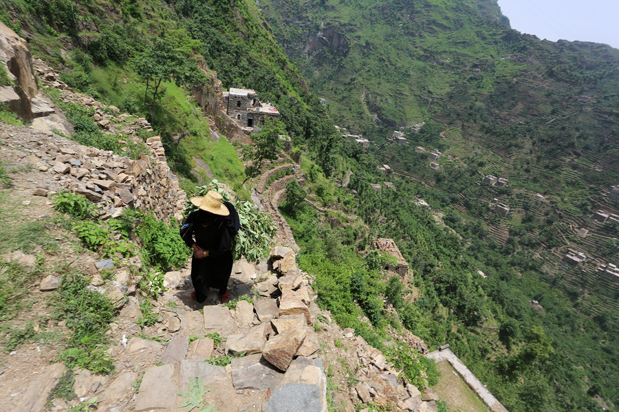 Путь на гору Dhalamlam, 2 июня 2016 года.
