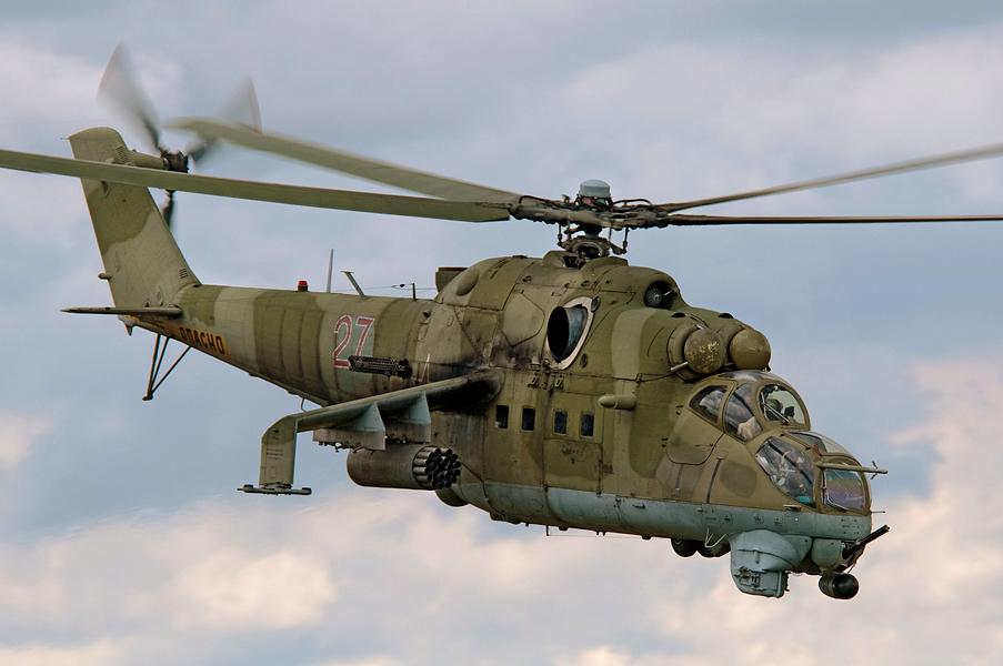 Ми-24, Россия