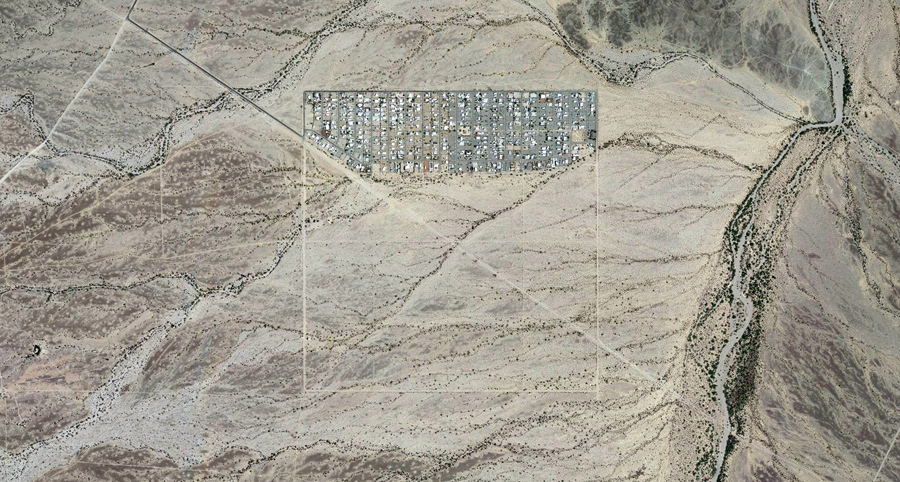 Небольшое поселение в штате Аризона.