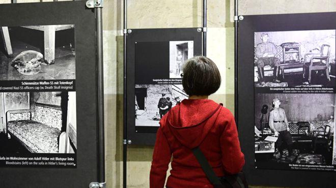 Фотографии рассказывающие историю, обыска бункера.
