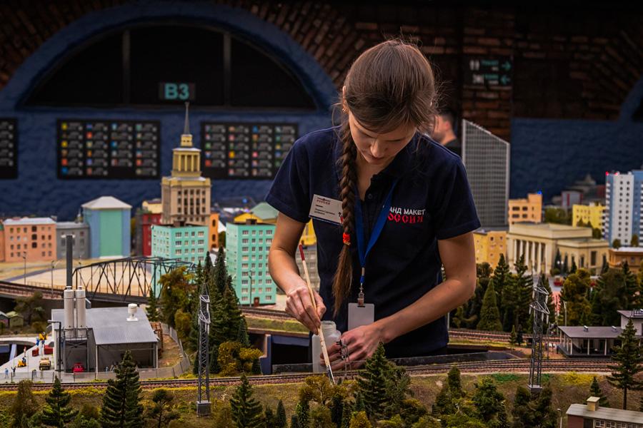 Игрушечный макет русской жизни