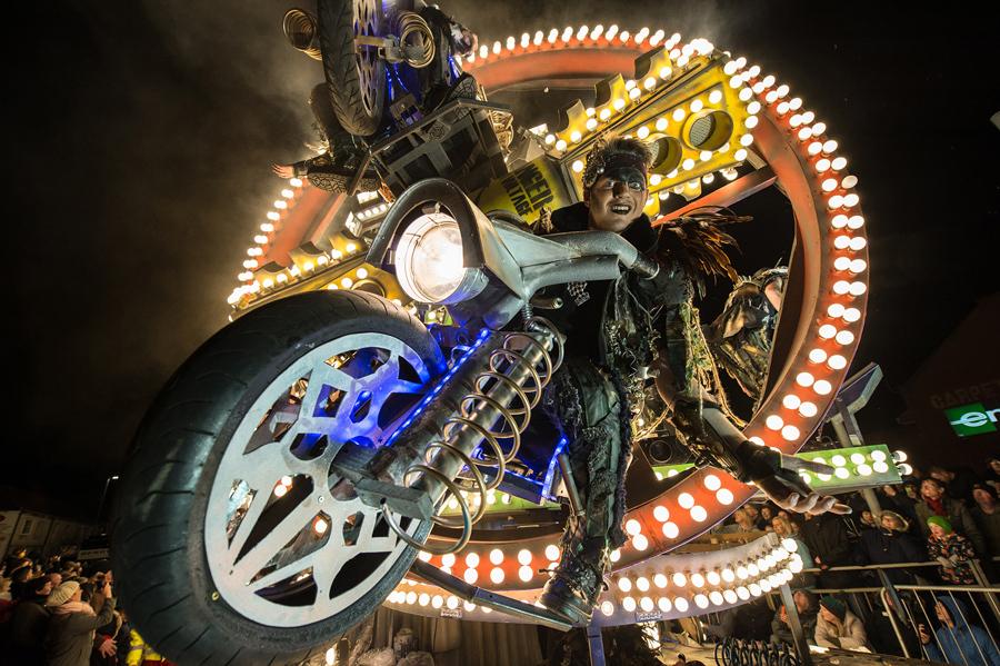 Карнавал Бриджуотер, 5 ноября 2016 года в городе Бриджуотер, Англия.