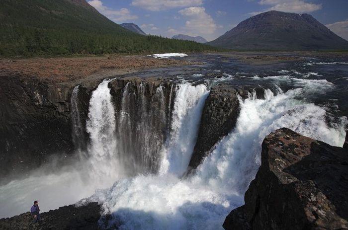 Долина реки, Плато Путорана, Таймыр, Красноярский край