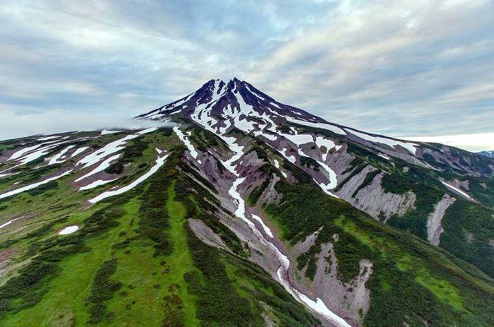 Вулкан Вилючинский, полуостров Камчатка