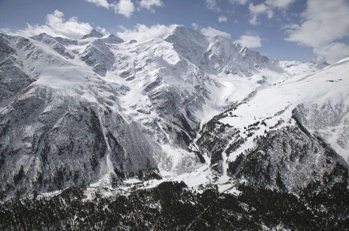 Главный Кавказский хребет, Эльбрус, Кавказ, Кабардино-Балкария