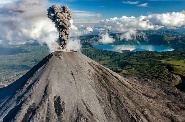 Карымский вулкан, Полуостров Камчатка