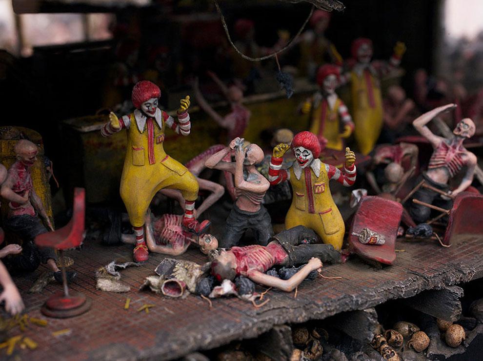 Как бы выглядел McDonald's, если бы нацисты открыли его в аду.
