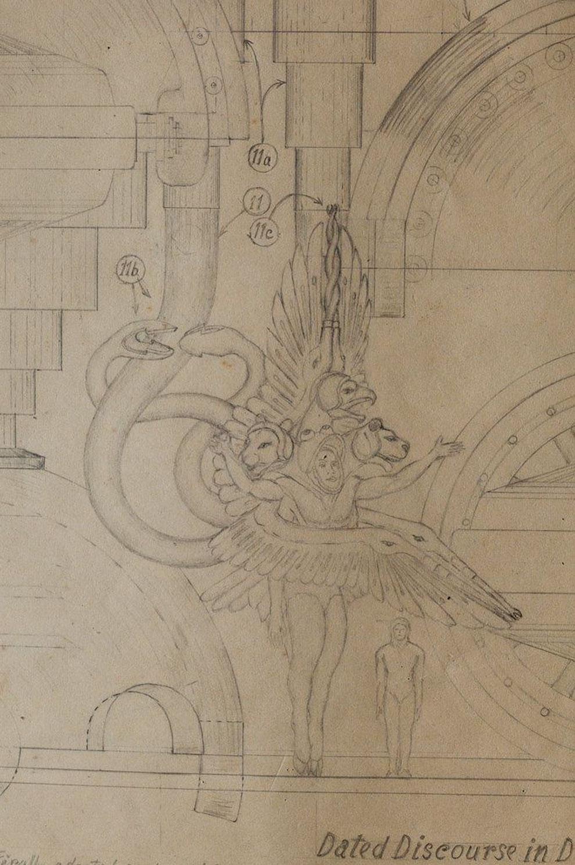 Таинственная книга с рисунками и чертежами о пришельцах