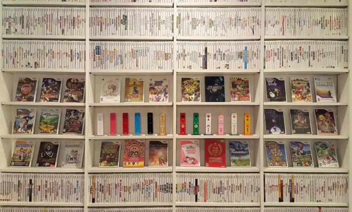 Самая большая коллекция игр для Nintendo Wii