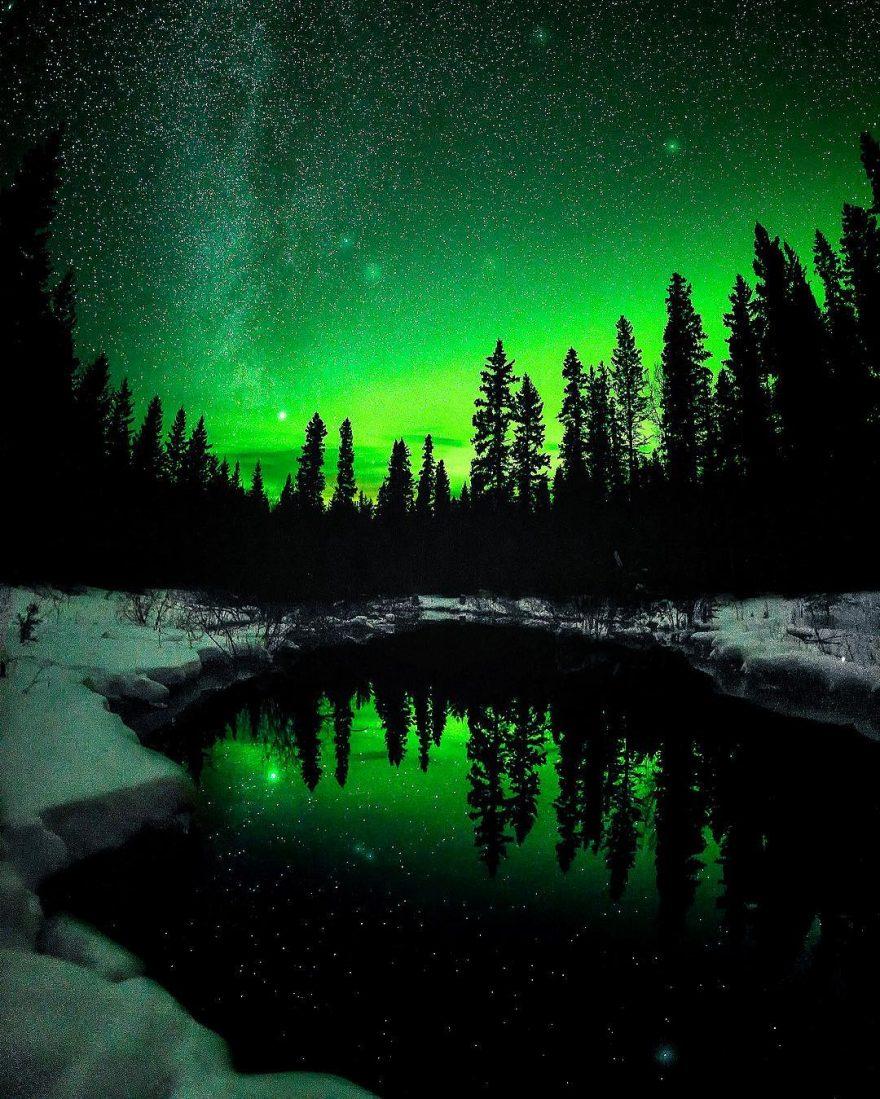 Невероятно красивые ночные пейзажи