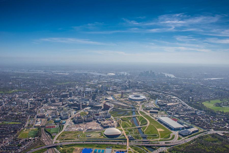 Олимпийский парк королевы Елизаветы для Олимпийских игр 2012 года и Паралимпийских игр.