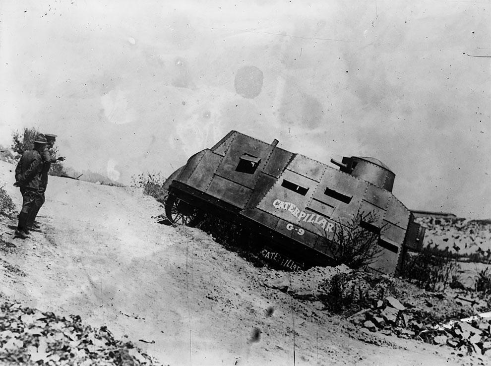Танк американской армии, 1917 г.