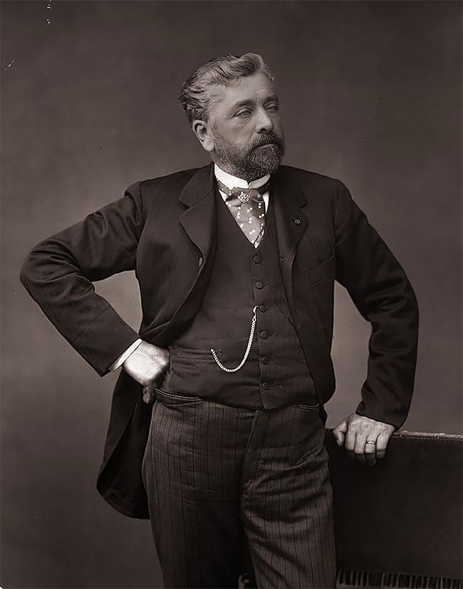 Французский инженер Александр Гюстав Эйфель (Alexandre Gustave Eiffel)