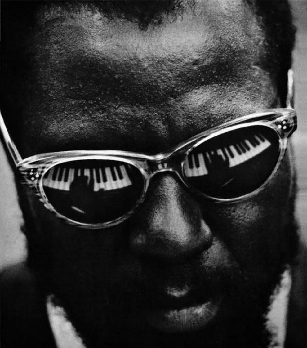Телониус Монк (Thelonious Sphere Monk), американский джазовый пианист и композитор в 1959 году.