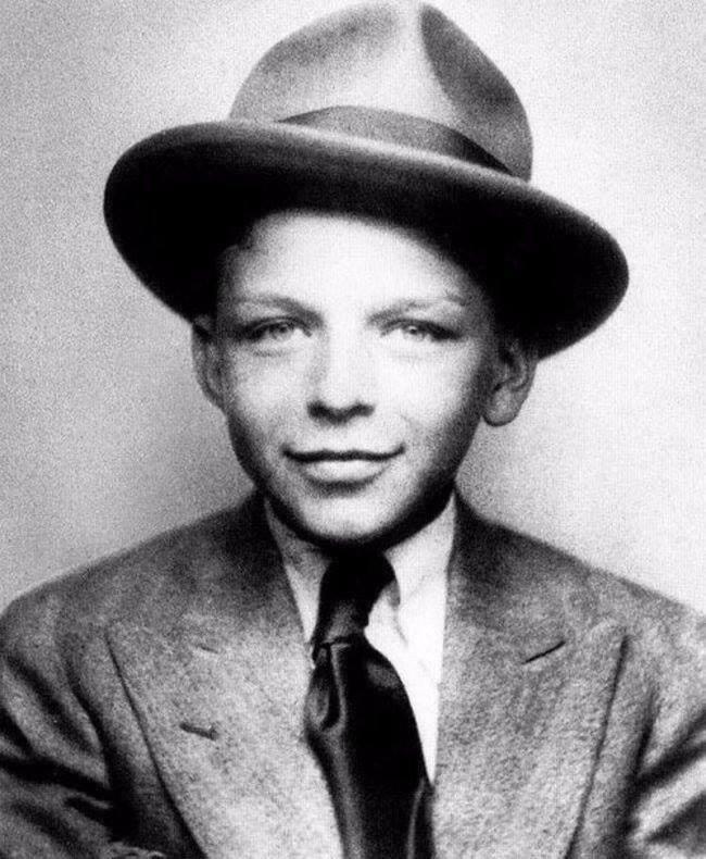 10-летний Фрэнк Синатра, 1925 г.