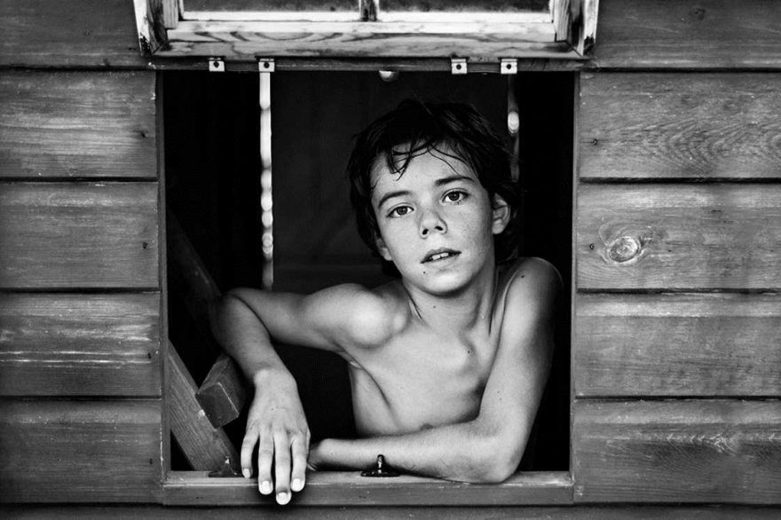 Победители и номинанты в детском фотоконкурсе B&W Child 2016