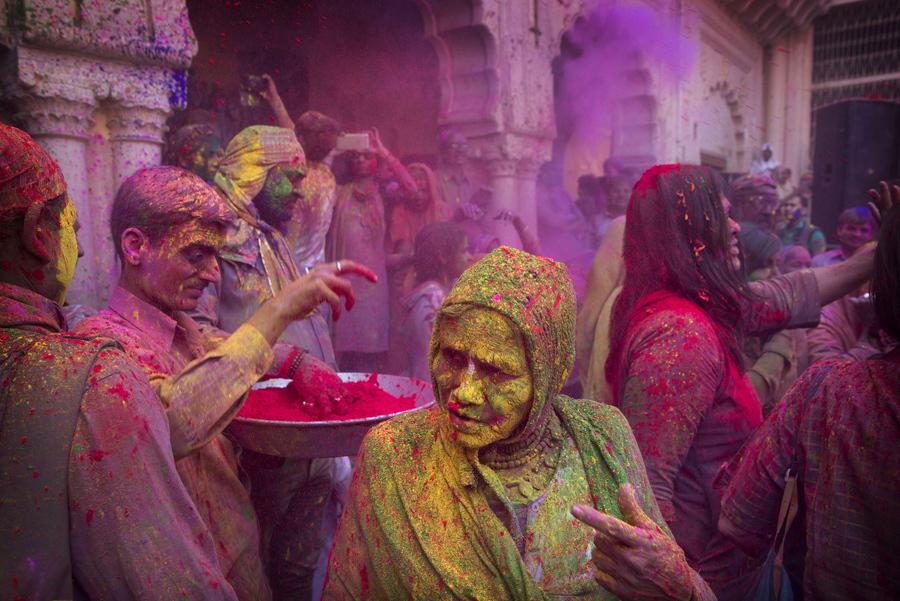Холи 2017: Праздник красок в Индии