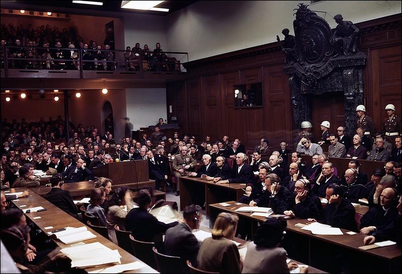 Нюрнбергский процесс над нацистами в фотографиях