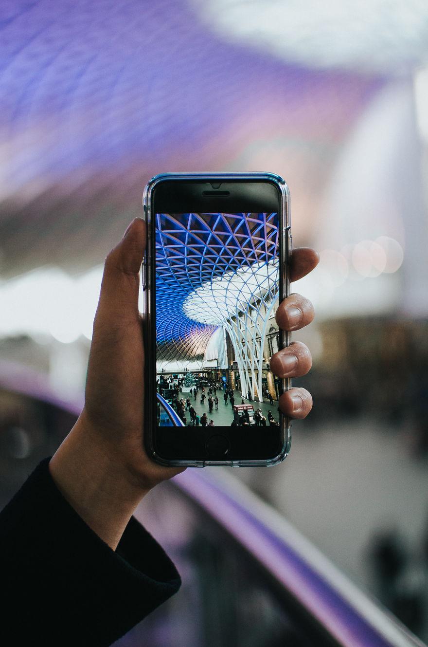 Красивая айфонография от Тьена Вуна
