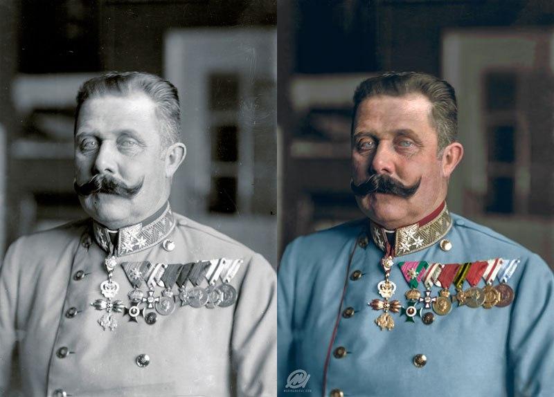 Известные исторические фотографии в цвете