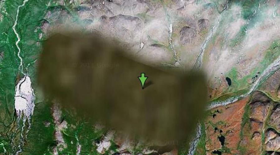 Секретные места на картах Google, которые скрывают от нас правительства