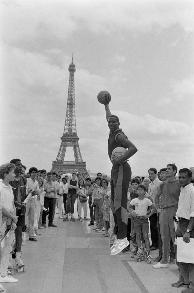 Майкл Джордан в Париже, 1985