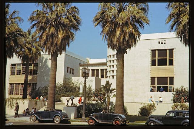 Фотографии Лос-Анджелеса до и после Второй мировой войны
