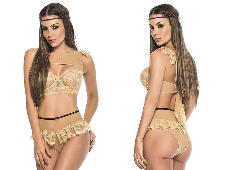 Сексуальное женское белье, стилизованное под принцесс из Диснея