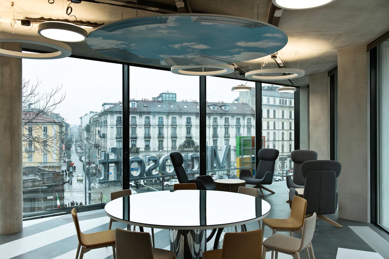 Новый офис компании Microsoft Италия в Милане