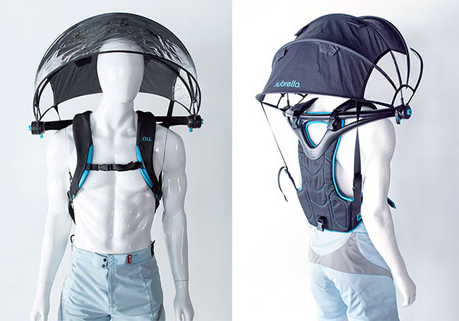 Инновационный зонт Nubrella который защитит вашу камеру от дождя