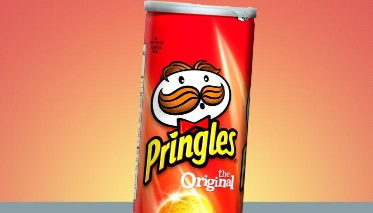 Kellogg's раскрыла секрет как  правильно есть чипсы Pringles