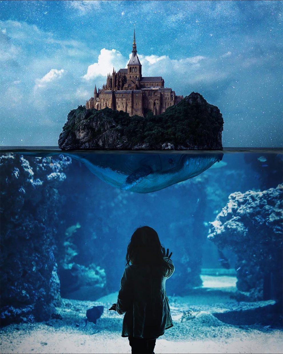 Сказочные и сюрреалистические фотоманипуляции