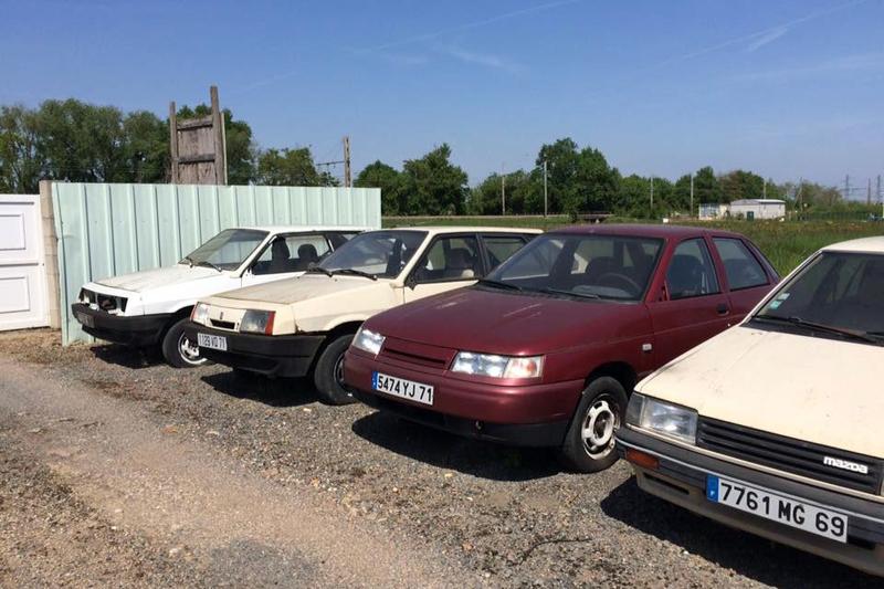 Заброшенный автосалон Лада во Франции