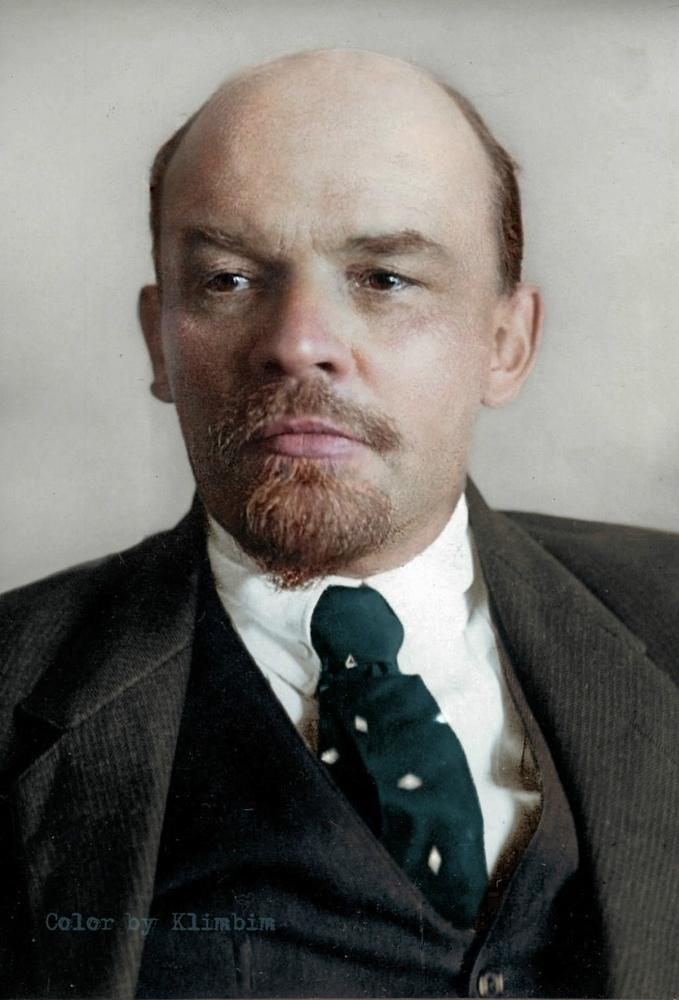 Ленин в полном цвете.