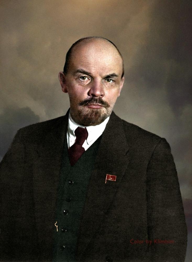 Ленин на параде 1919 года.