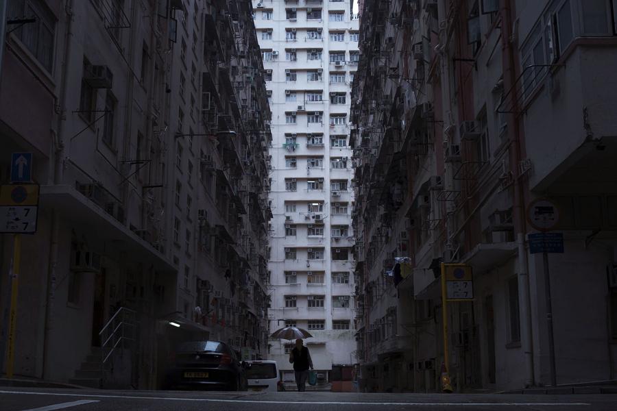 Крошечные квартиры в Гонконге для бедняков