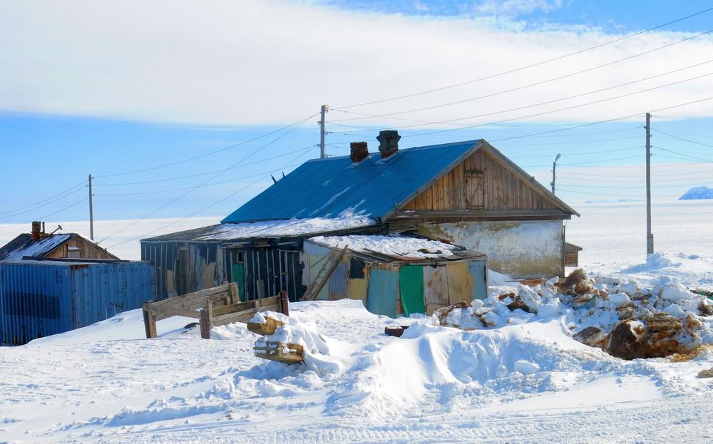 Чукотский АО: уездный город Янск