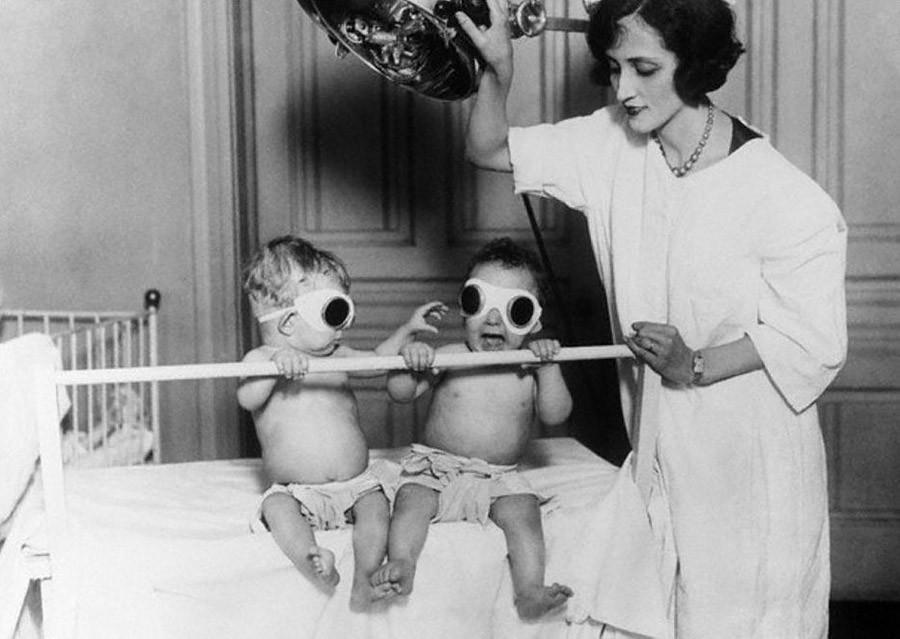Фотографии которые показывают, каким странным был раньше мир