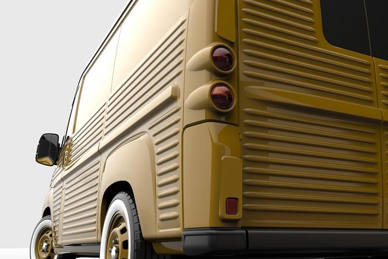 70-летие Citroen H Van