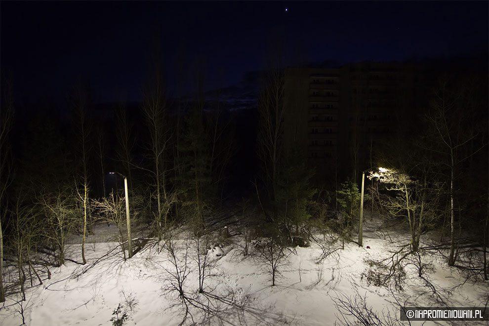 Польские Сталкеры включили свет в Припяти, через 31 год после аварии на Чернобыльской АЭС