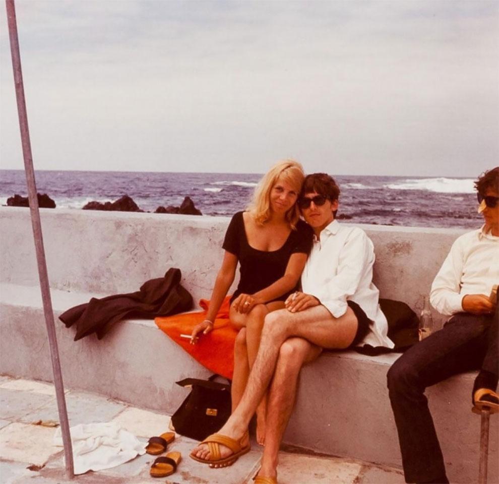 Редкие фотографии «The Beatles» на отдыхе на острове Тенерифе
