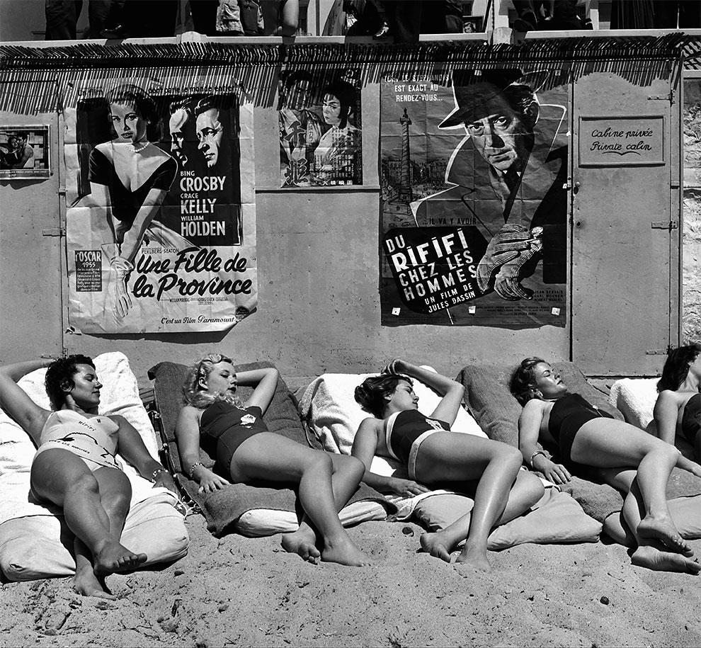 Звездочки на Каннском кинофестивале, Канны, Франция, 1955 год.
