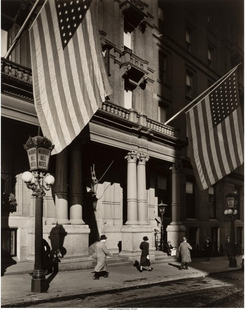 Отель Марри-Хилл, Парк авеню,112, 1935 год.