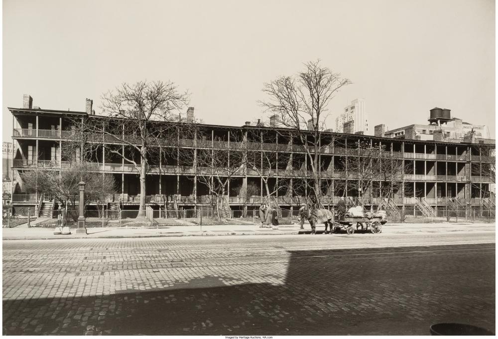 Седьмая авеню между 12-й и 13-й улицами. 20 марта 1936г.